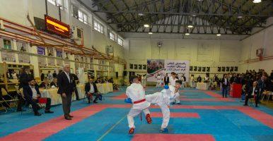 گزارش تصویری رقابت انتخابی تیم های منتخب کاراته استان گیلان گرامیداشت سردار سپهبد شهید حاج قاسم سلیمانی